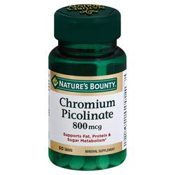 Nature's Bounty Mega Chromium Picolinate