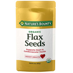 Nature's Bounty Organic Flax Seeds