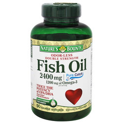 Nature's Bounty Odor-Less Double Strength Fish Oil