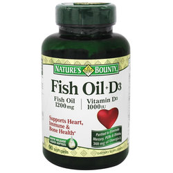 Nature's Bounty Fish Oil + D3