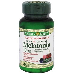 Nature's Bounty Maximum Strength Melatonin