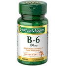 Nature's Bounty Vitamin B-6