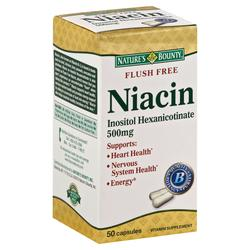 Nature's Bounty Niacin