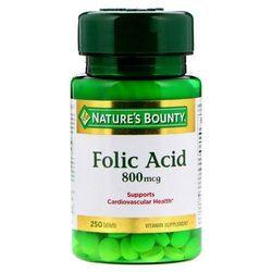 Nature's Bounty Folic Acid 800 mcg