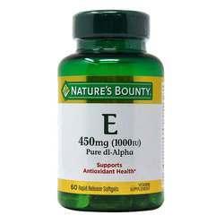Nature's Bounty Vitamin E - dl-Alpha