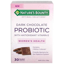 Nature's Bounty Optimal Solutions Probiotic Pieces