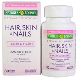 Nature's Bounty Optimal Solutions Hair- Skin and Nails