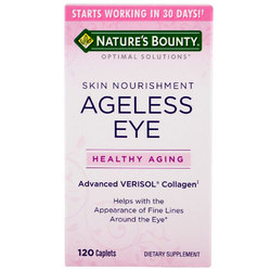 Nature's Bounty Optimal Solutions Ageless Eye Skin Nourishment