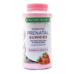 Nature's Bounty Essential Prenatal Gummies