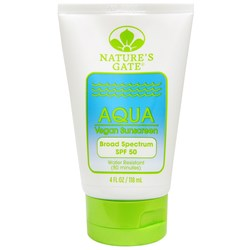 Nature's Gate Aqua Vegan Sunscreen