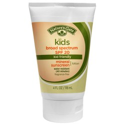 Nature's Gate Kids Mineral Sunscreen Lotion