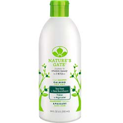 Nature's Gate Tea Tree + Sea Buckthorn Calming Shampoo