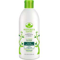 Nature's Gate Tea Tree + Sea Buckthorn Calming Shampoo