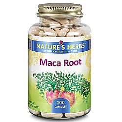 Nature's Herbs Maca Root 500 mg