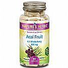 Nature's Herbs Power Herbs Acai Fruit Standardized Extract