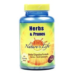 Nature's Life Herbs and Prunes