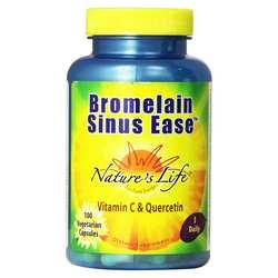 Nature's Life Bromelain Sinus Ease