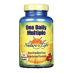 Nature's Life One Daily Vegetarian Multiple