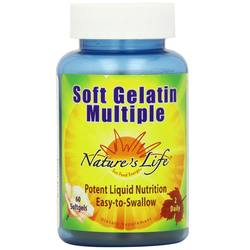 Nature's Life Soft Gelatin Multiple
