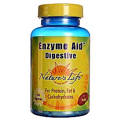 Nature's Life Enzyme Aid Digestive Caps