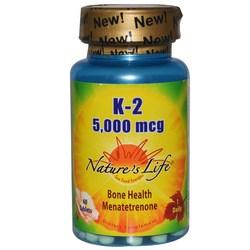 Nature's Life K-2 5-000 mcg