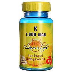 Nature's Life K 1-000 mcg