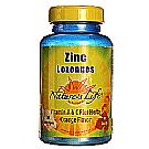 Nature's Life Zinc Lozenges 12.5 mg Orange