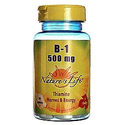 Nature's Life B-1 500 mg