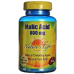 Nature's Life Malic Acid 800 mg
