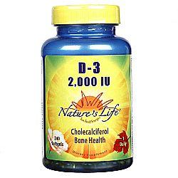 Nature's Life D-3 2-000 IU