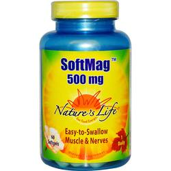 Nature's Life SoftMag 500 mg