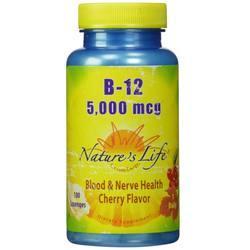 Nature's Life B-12 5-000 mcg