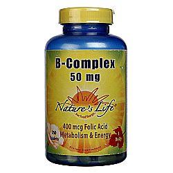 Nature's Life B-Complex 50 mg