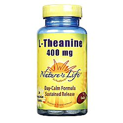 Nature's Life L-Theanine 400 mg