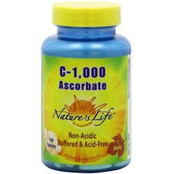 Nature's Life C-1-000 Ascorbate