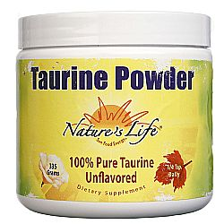 Nature's Life Taurine Powder