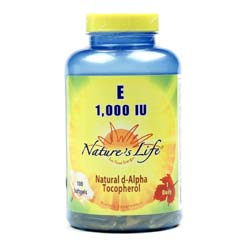 Nature's Life E 1-000 IU