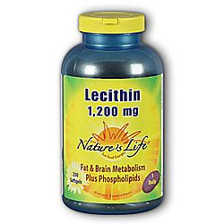 Nature's Life Lecithin 1-200 mg
