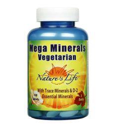 Nature's Life Mega Minerals Vegetarian