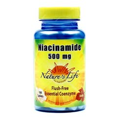 Nature's Life Niacinamide 500 mg