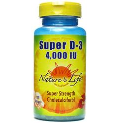 Nature's Life Super D-3 5-000 IU