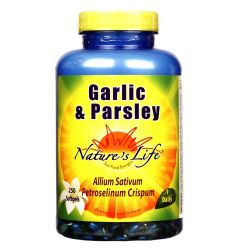 Nature's Life Garlic and Parsley
