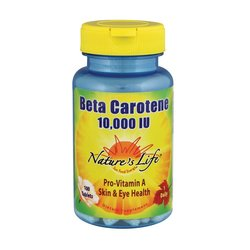 Nature's Life Beta Carotene