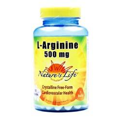 Nature's Life L-Arginine