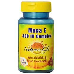 Nature's Life Mega E 400 IU Complex