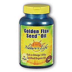 Nature's Life Golden Flax Seed Oil Gels