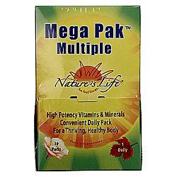 Nature's Life Mega Pak Multiple