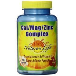 Nature's Life Cal Mag Zinc Complex Caps