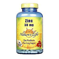 Nature's Life Zinc