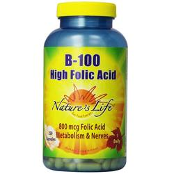 Nature's Life B-100 High Folic Acid